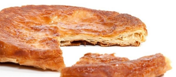 "Traditional Kouign Amann from Brittany (9"" round)"