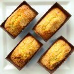 Lavender Cornmeal Poundcake